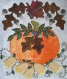 Season of Sunshine and Blooms Kit by Woolkeeper Wool Applique