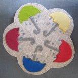 Splish Splash Wool Applique Kit by Woolkeeper