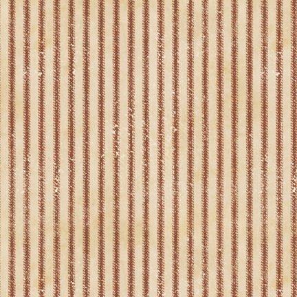 Vintage Varsity Stripe Red Tan 745181296155