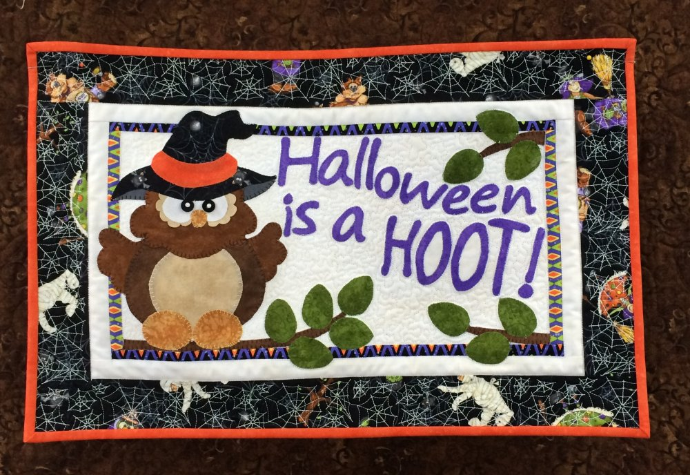 Halloween is a Hoot Quilt Kit