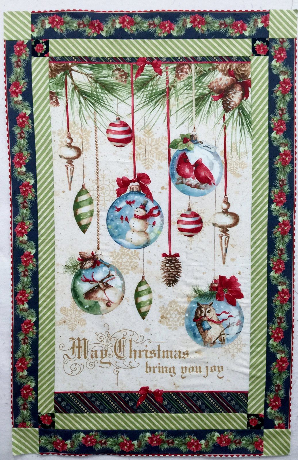 Woodland Holiday Wall Quilt And Placemats Kit