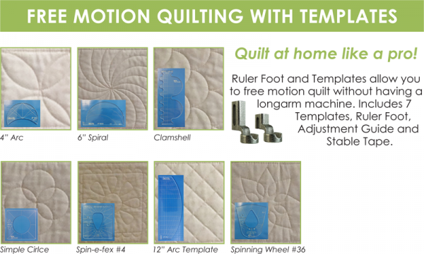 Free Quilting Ruler Templates : PUEBLO: Quilting with Templates, a.k.a. Ruler Work