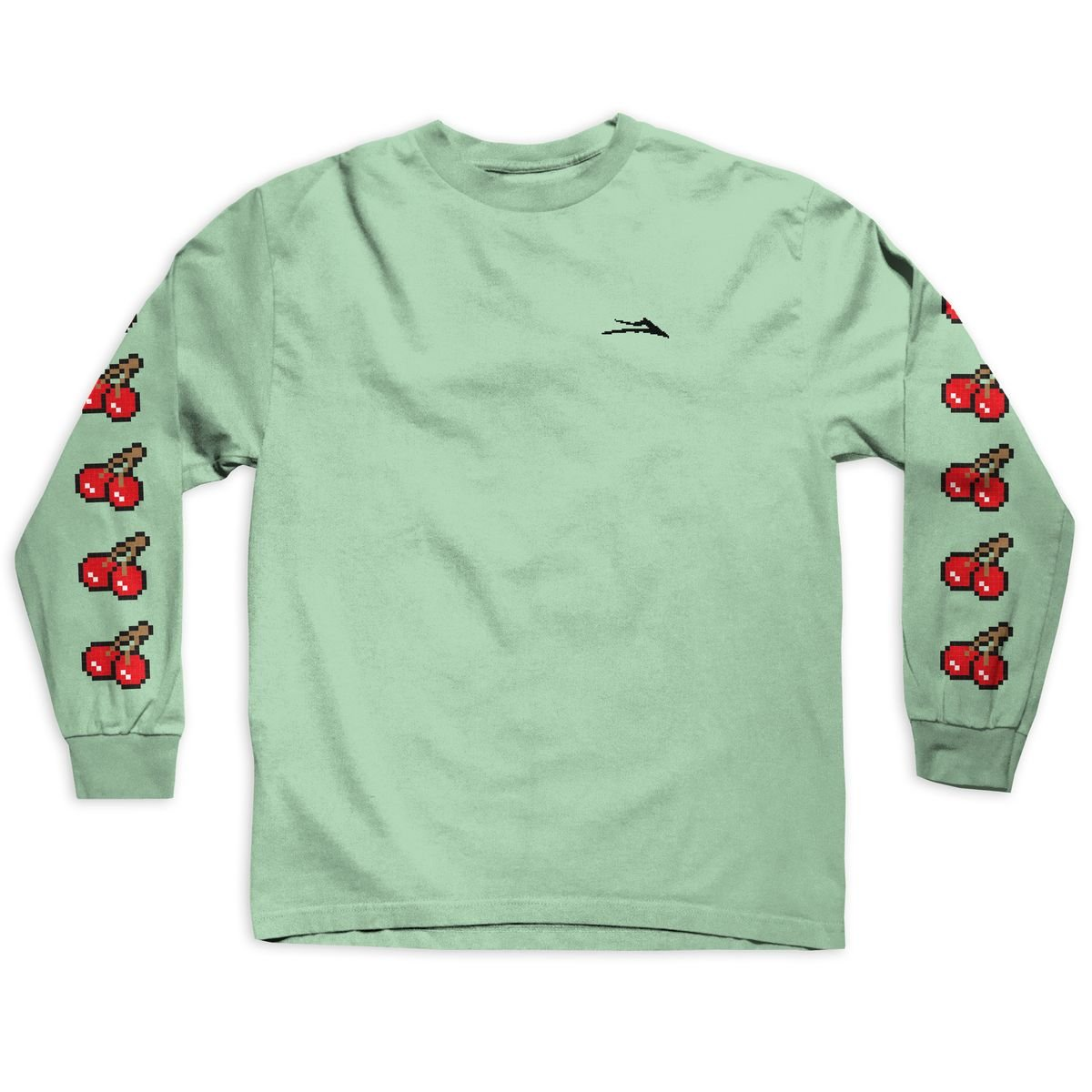 Lakai 8 Bit Long Sleeve t shirt celadon
