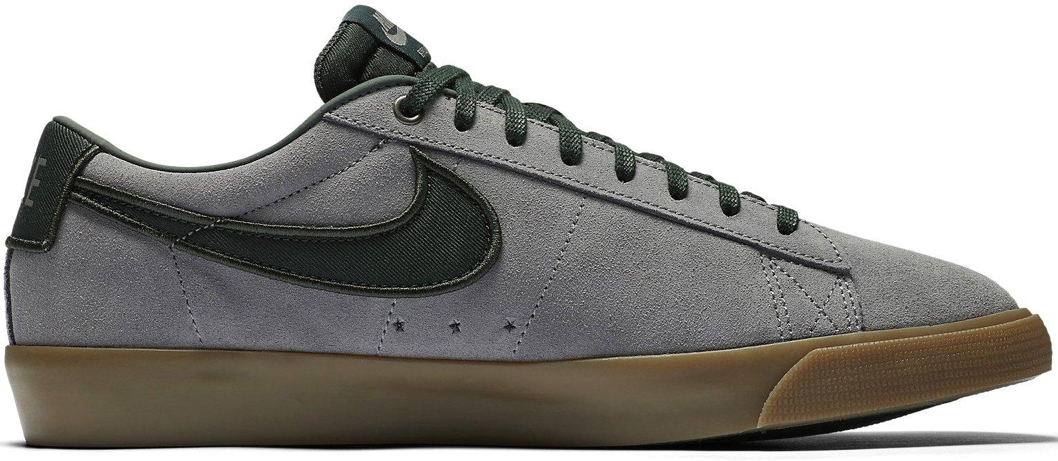 new style 99dac 6afa5 ... Nike SB Blazer Low GT gunsmoke black spruce . ...