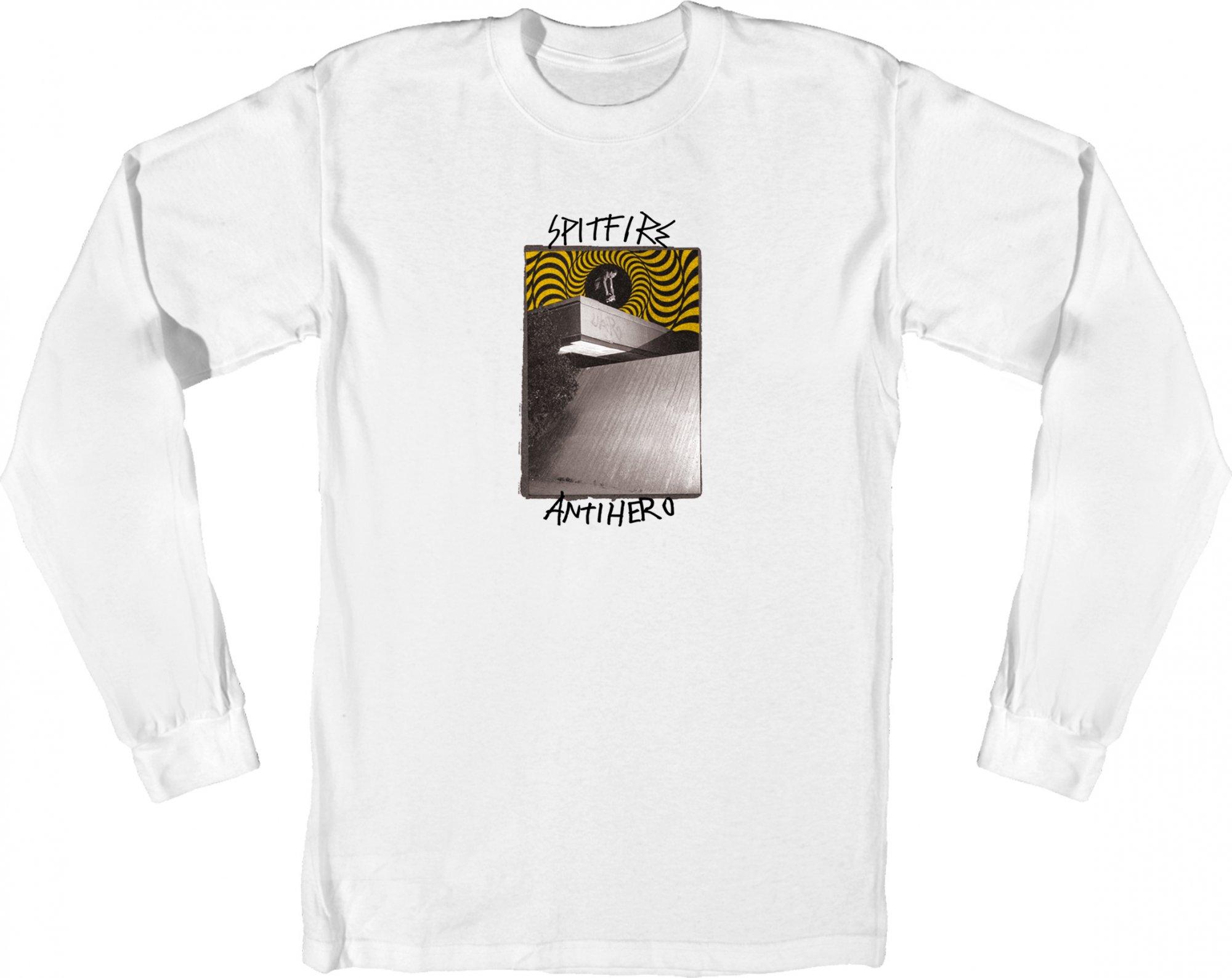 Spitfire X Antihero Cardiel Carwash l/s white