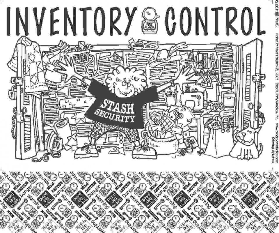 Inventory Control Quilt Fabric Pattern