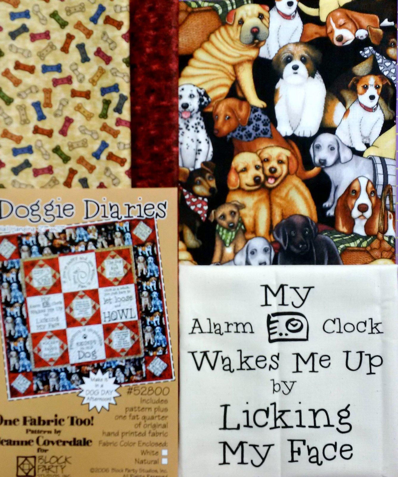Doggie Diaries Quilt Kit