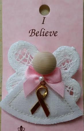 I Believe Angel Pin