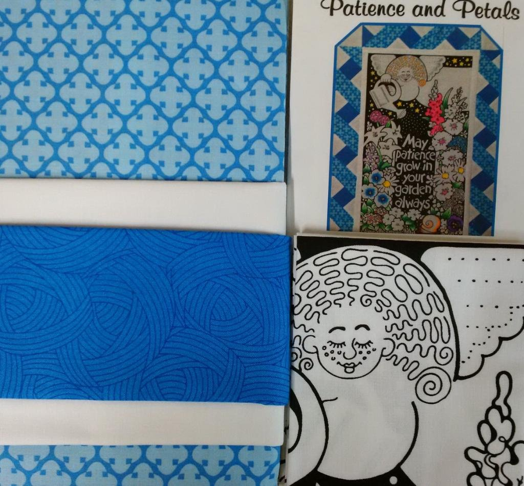Patience and Petals Quilt Kit