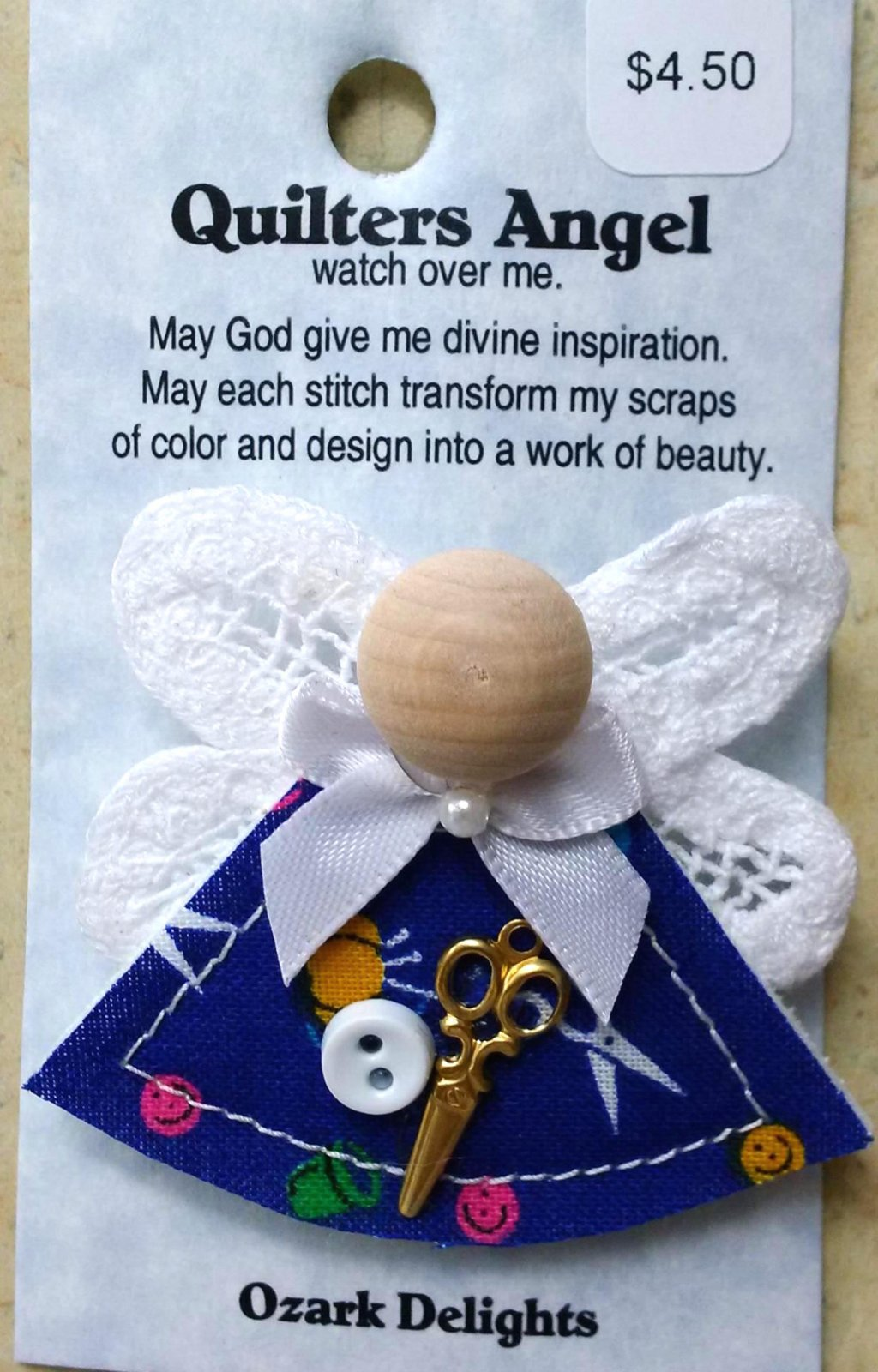 Quilter's Angel Pin