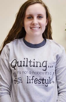 Quilting, It's Not a Hobby Long Sleeve Tee
