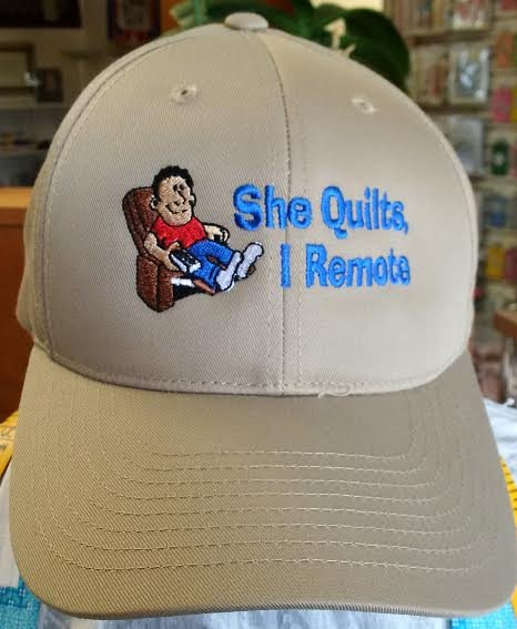 She Quilts - I Remote Cap