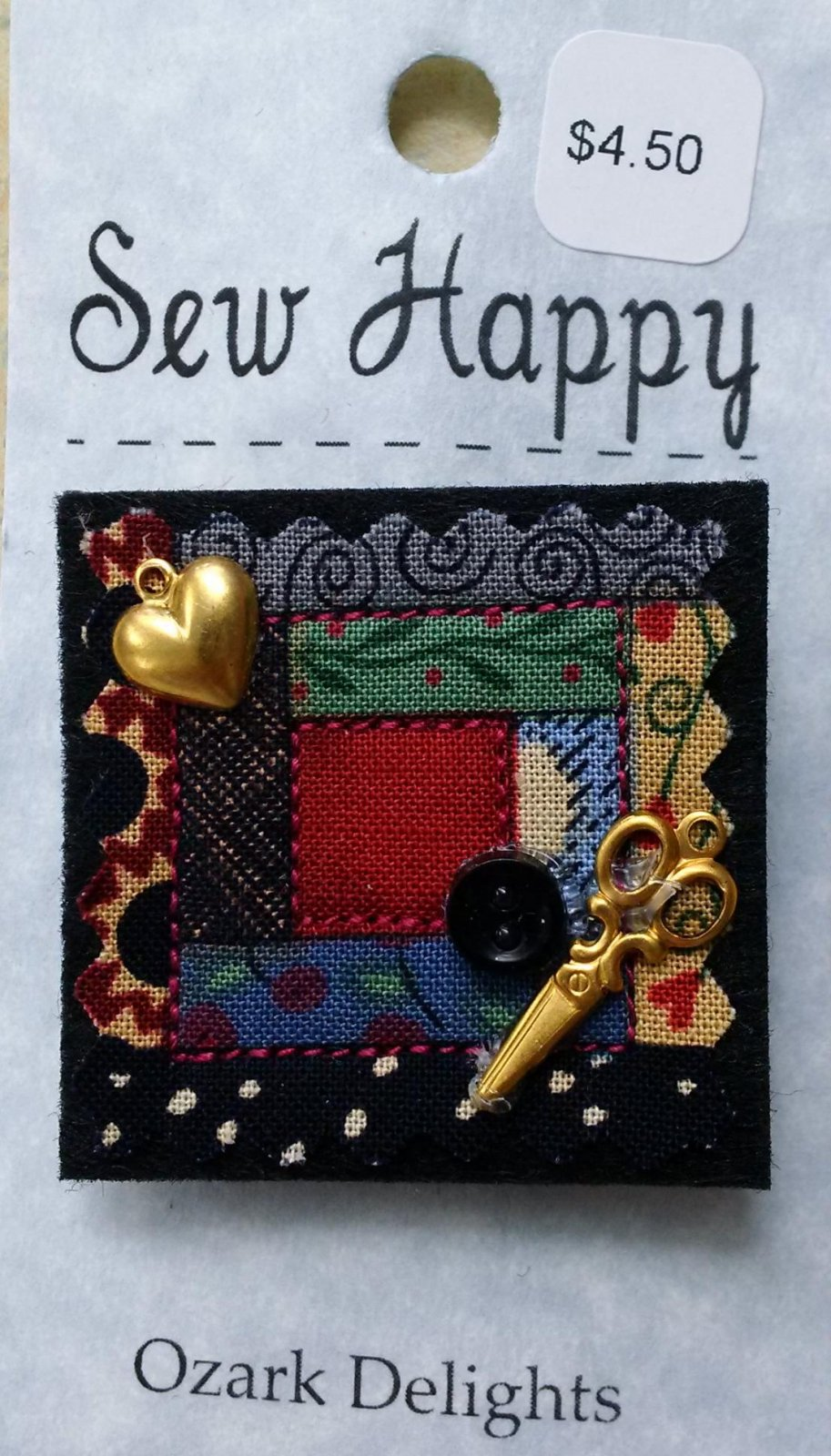 Sew Happy Pin
