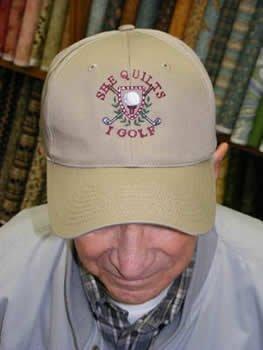 She Quilts - I Golf Cap