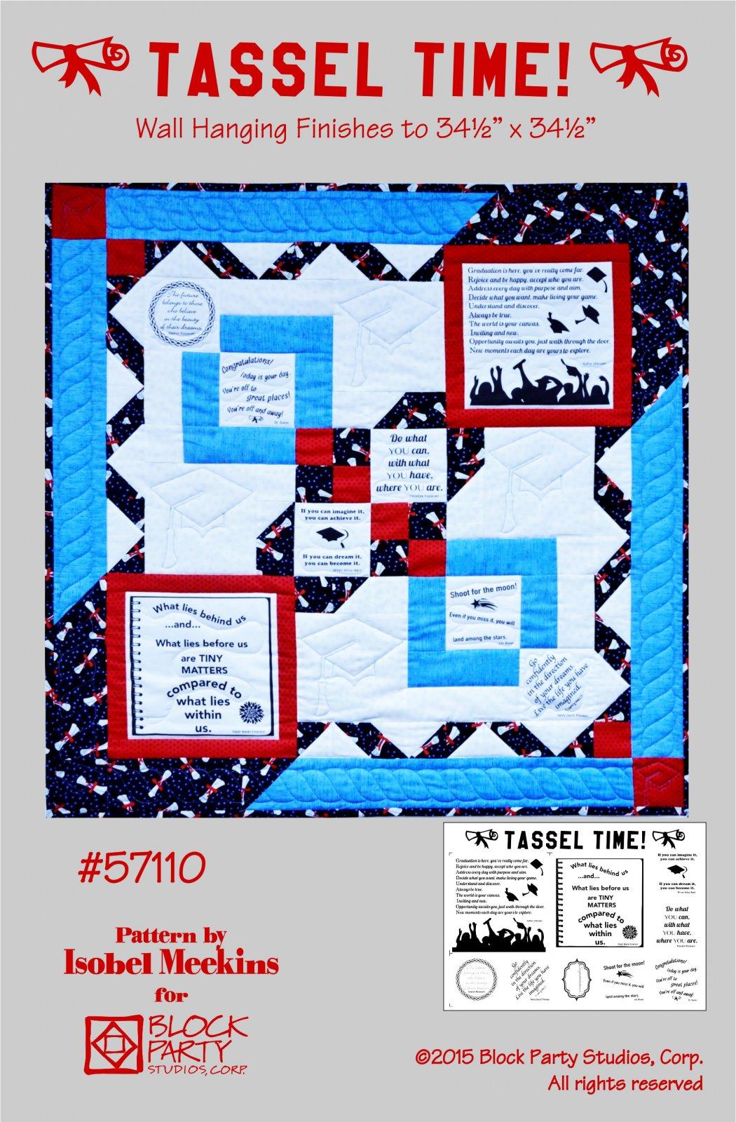 Tassel Time Quilt Pattern