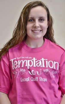 Lead Me Not into Temptation Except Quilt Shops T-Shirt