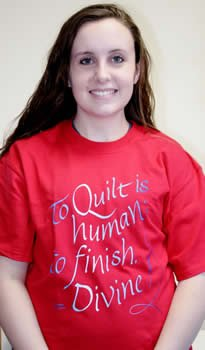 To Quilt is Human; to Finish Divine! T-Shirt