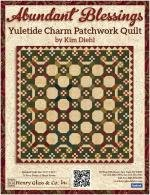 Abundant Blessings Yuletide Charm by Kim Diehl