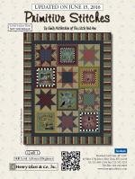 Primitive Stitches Quilt 1 - Panel Quilt