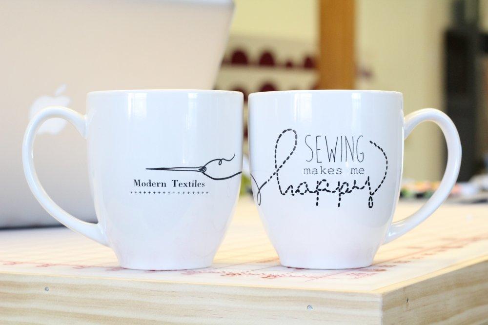 Modern Textiles Mugs