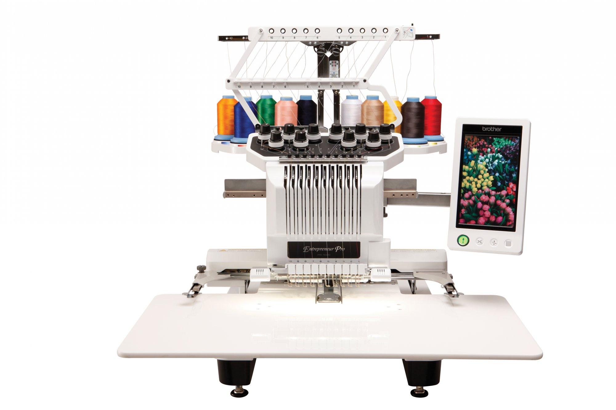 pr 1000 embroidery machine