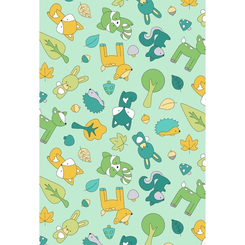 Baby Animals Flannel