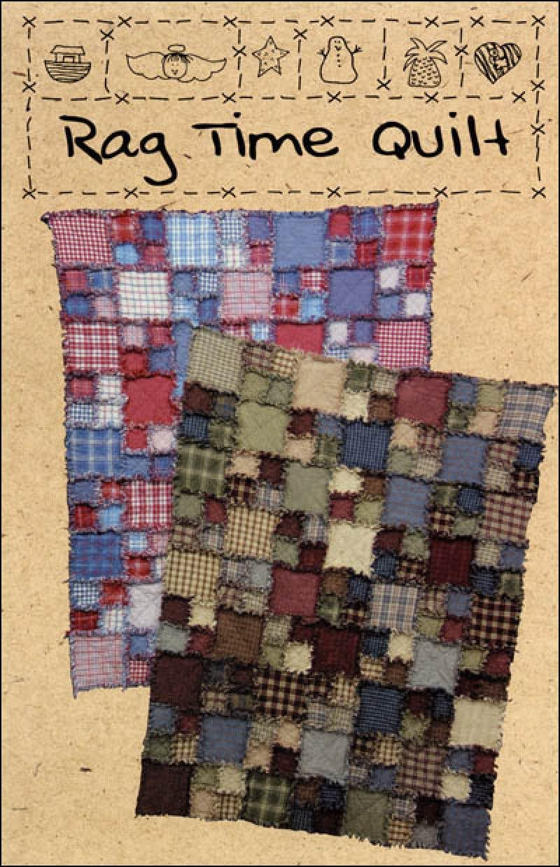 Rag Time Quilt - 9751654