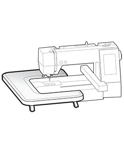 table for embroidery machine
