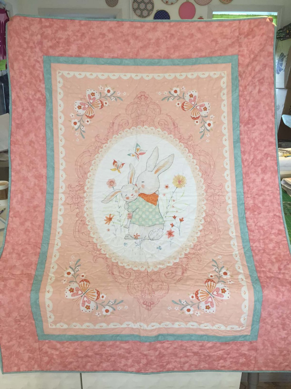 Bunny hill quilt kit - Quilt rits ...