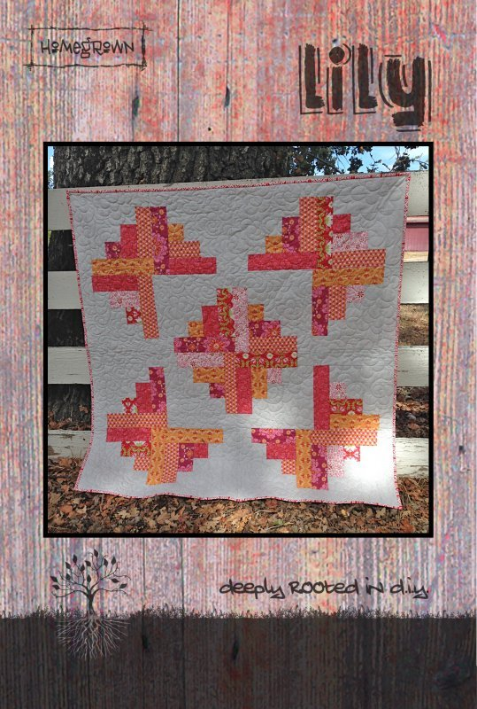 Lily Quilt Pattern 50 X 50 881314423477