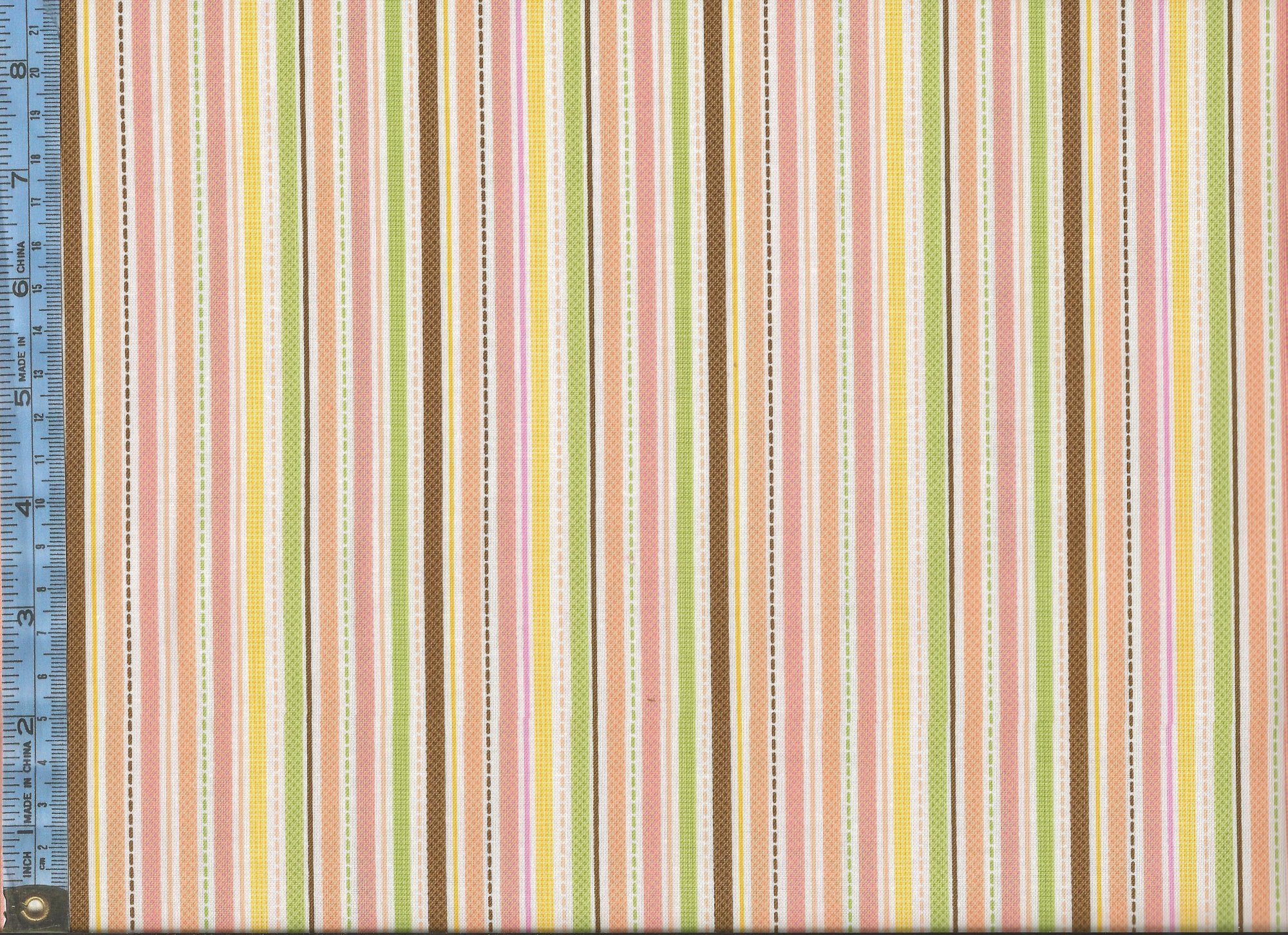 Online Embroidery Fabric Wiring Diagrams Play Rockpaperscissorsspocklizard 5gesture Roshambo Sweet Baby Girl Green Orange Brown And Yellow Stripes Buy India
