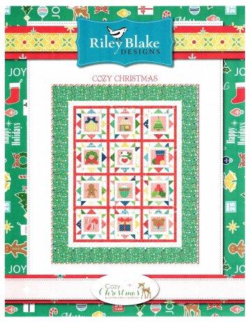 Cozy Christmas - Lori Holt Sew Along Kit