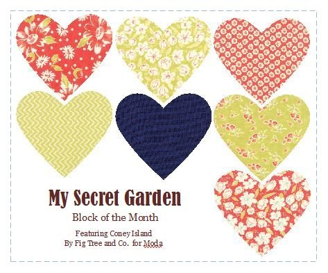 My Secret Garden BOM Registration