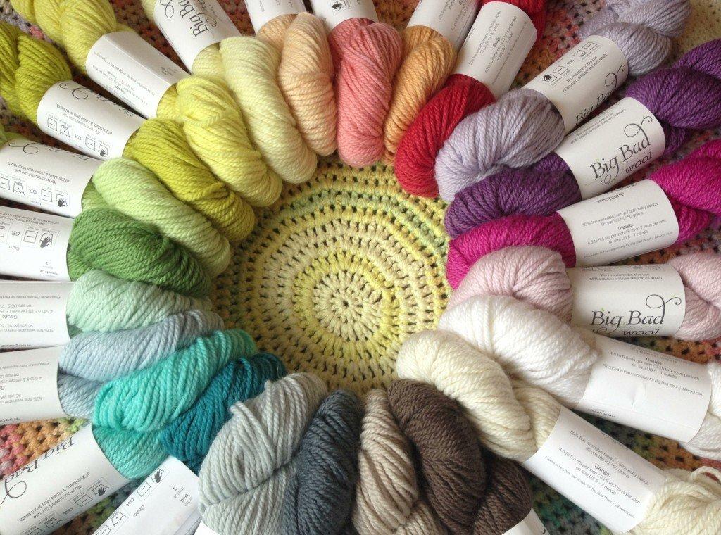 Knitting Classes London : Deep south fibers yarn