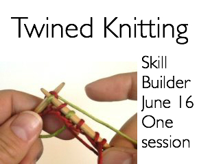 twined knitting