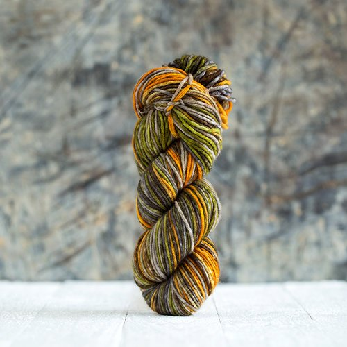 Uneek Worsted Weight Self Striping Hand Dyed Merino Yarn
