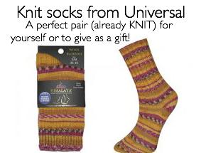 universal socks