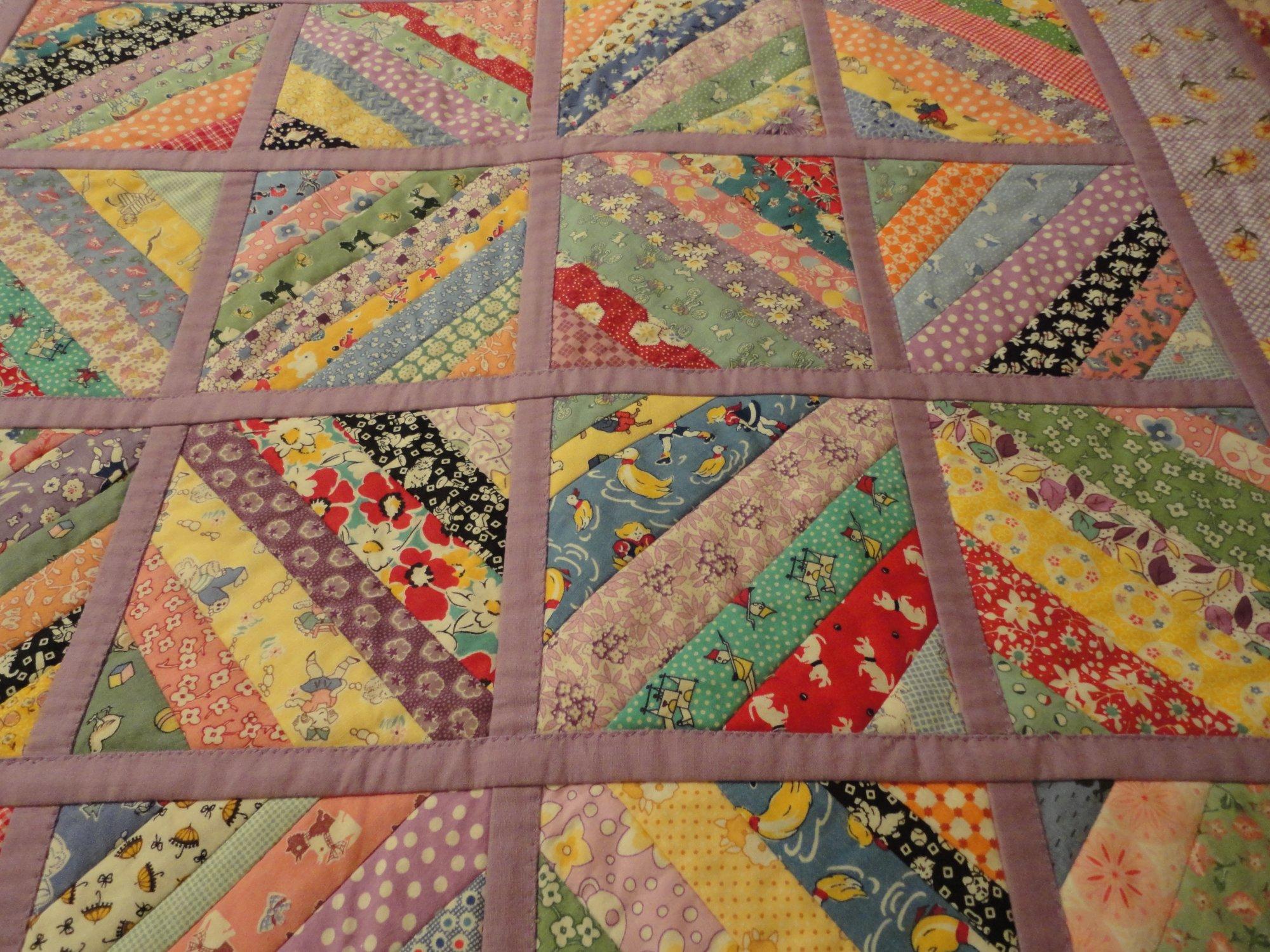 Free Strip Quilt Patterns