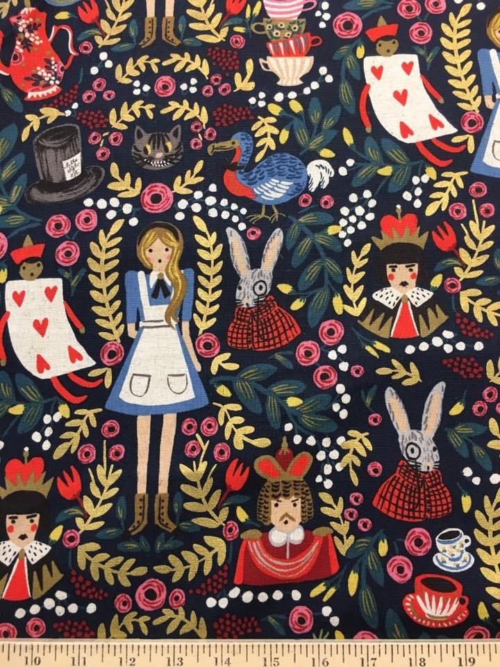 Alice in Wonderland Canvas