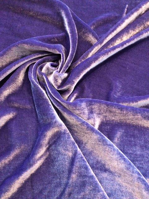 Violet Silk Velvet