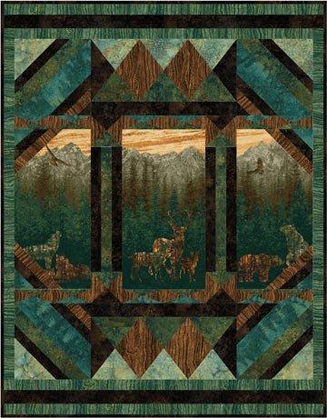 Aspen Nature Quilt Kit