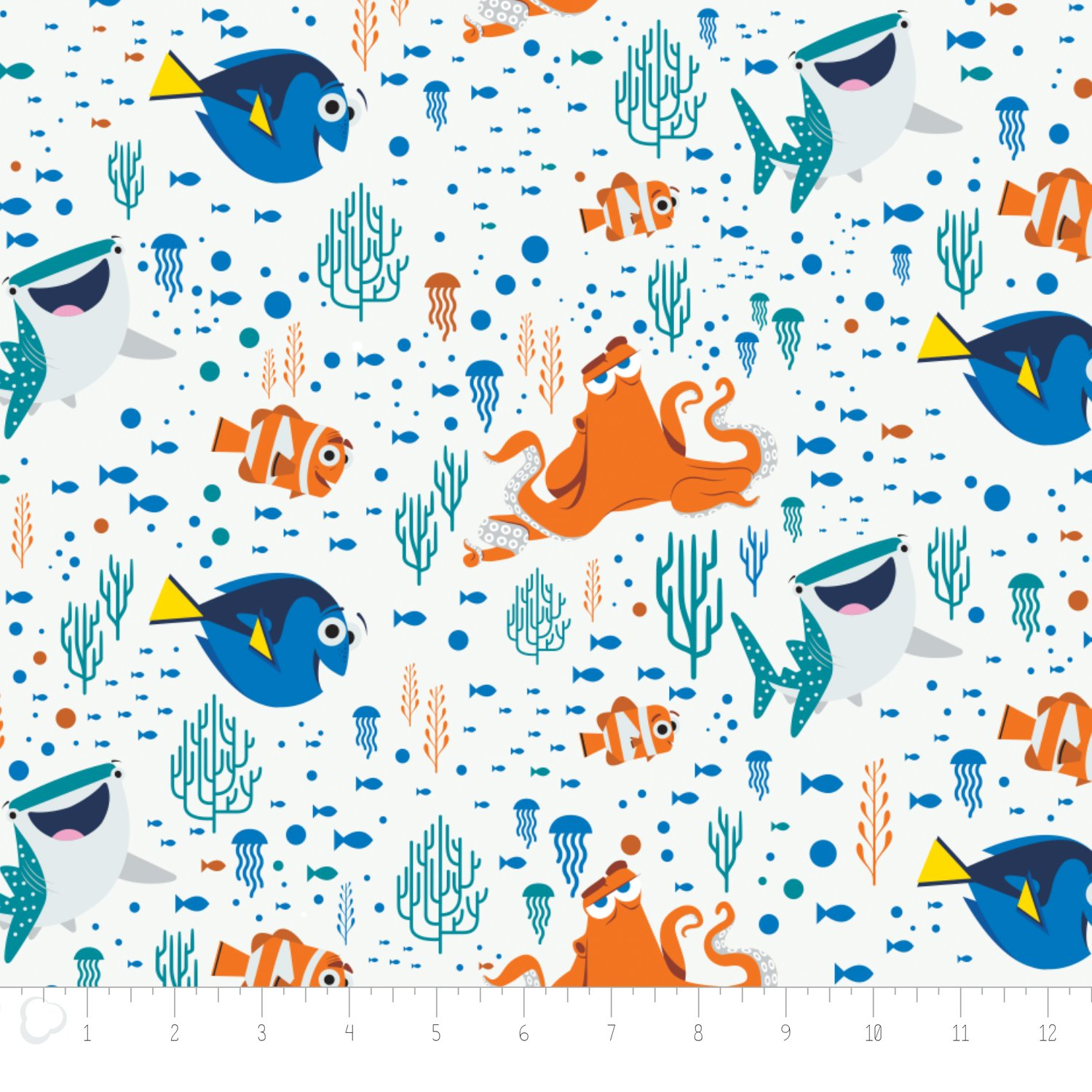 Kids for Kids character fabric
