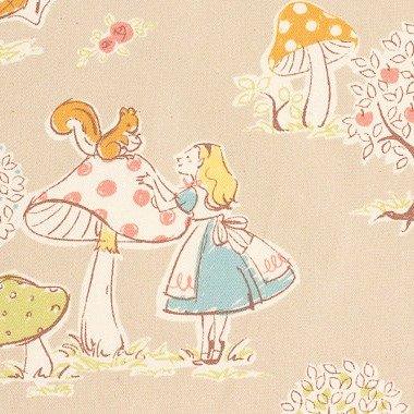Kokka - Alice In Wonderland - Grey