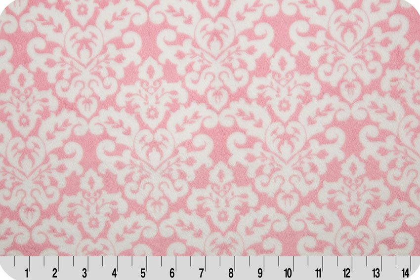 Damask Cuddle - Blush/Snow