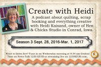 Create with Heidi Podcast Season 3