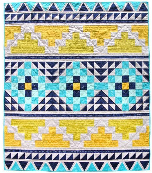 Mayan Mosaic Fabric Kit 52 1 2 X 61