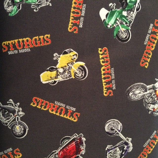 RK 2016 Sturgis Motorcycle Print-Charcoal