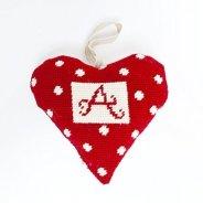 heart needlepoint ornament kit