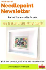 needlepoint newsletter how to frame needlepoint