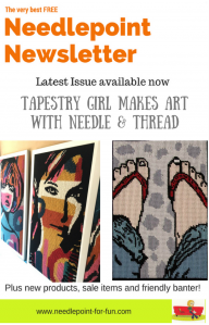 the best needlepoint newsletter blog late may